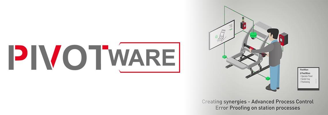 PivotWare by Desoutter : sistemi di controllo di processo per operazioni di assemblaggio