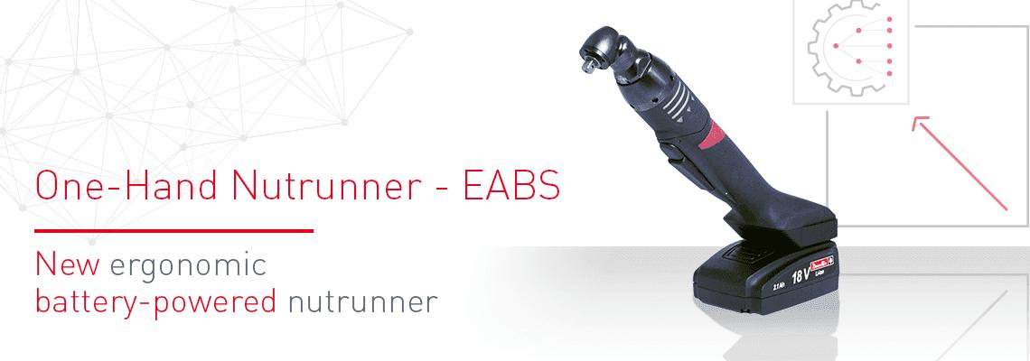 Il nuovo avvitatore a batteria ergonomico EABS