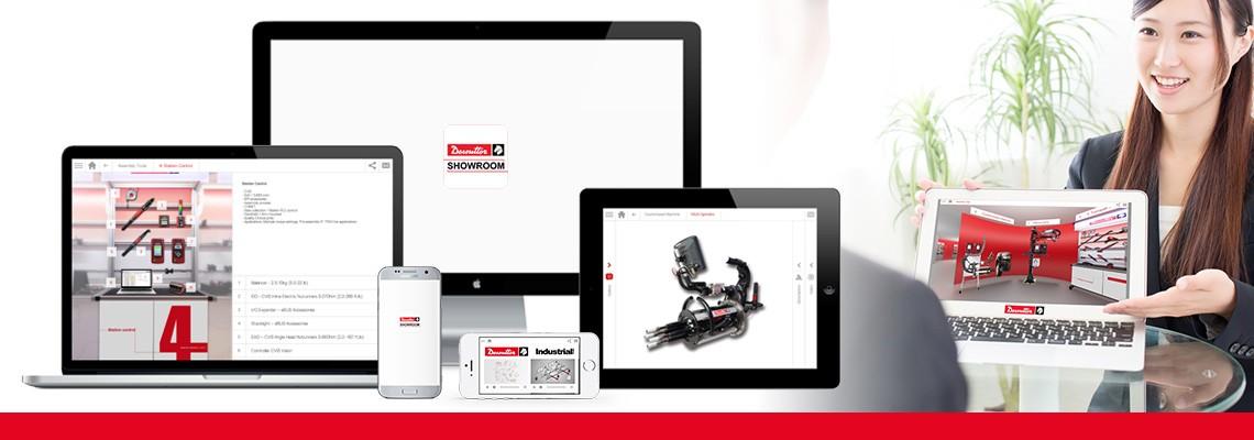 Download l'App showroom per scoprire tutte le nostre soluzioni di assemblaggio e perforazione attraverso foto e video. Desoutter è sempre dalla tua parte anche offline.