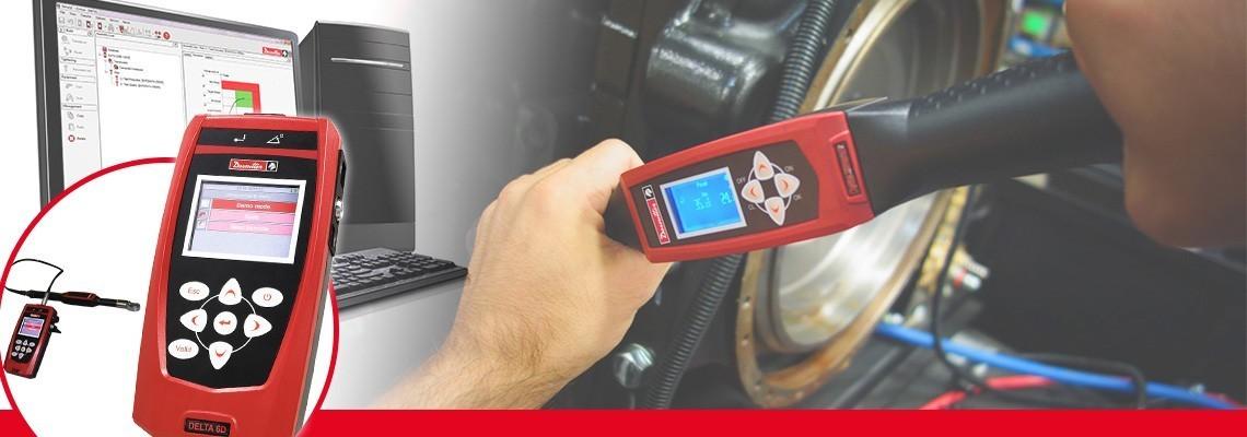 La nuova generazione di lettori Delta è una soluzione compatta e portatile per monitorare tutti i tipi di utensili di produzione in soli 500g. Combinata con i trasduttori standard Desoutter DRT o DST è in grado di calibrare utensili ad impulso, avvitatori elettrici o chiavi dinanometriche. Suddivisi in tre modelli solo per la misurazione della coppia (DELTA 1D), Coppia & Angolo (Delta 6D) e strategia di controllo della coppia residua con la chiave DWTA (Delta 7D).<br/>