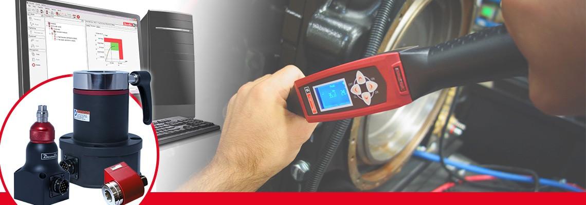 Desoutter Industrial Tools ha disegnato una gamma completa di trasduttori di coppia rotativa per misuare l'output di ogni utensile per assemblaggio senza massa battente.