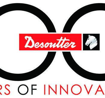 Desoutter Logo 100° anniversario