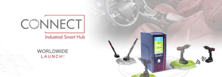 Siamo orgogliosi di presentare CONNECT, il nostro nuovo Smart Hub industriale: una soluzione Desoutter 4.0!
